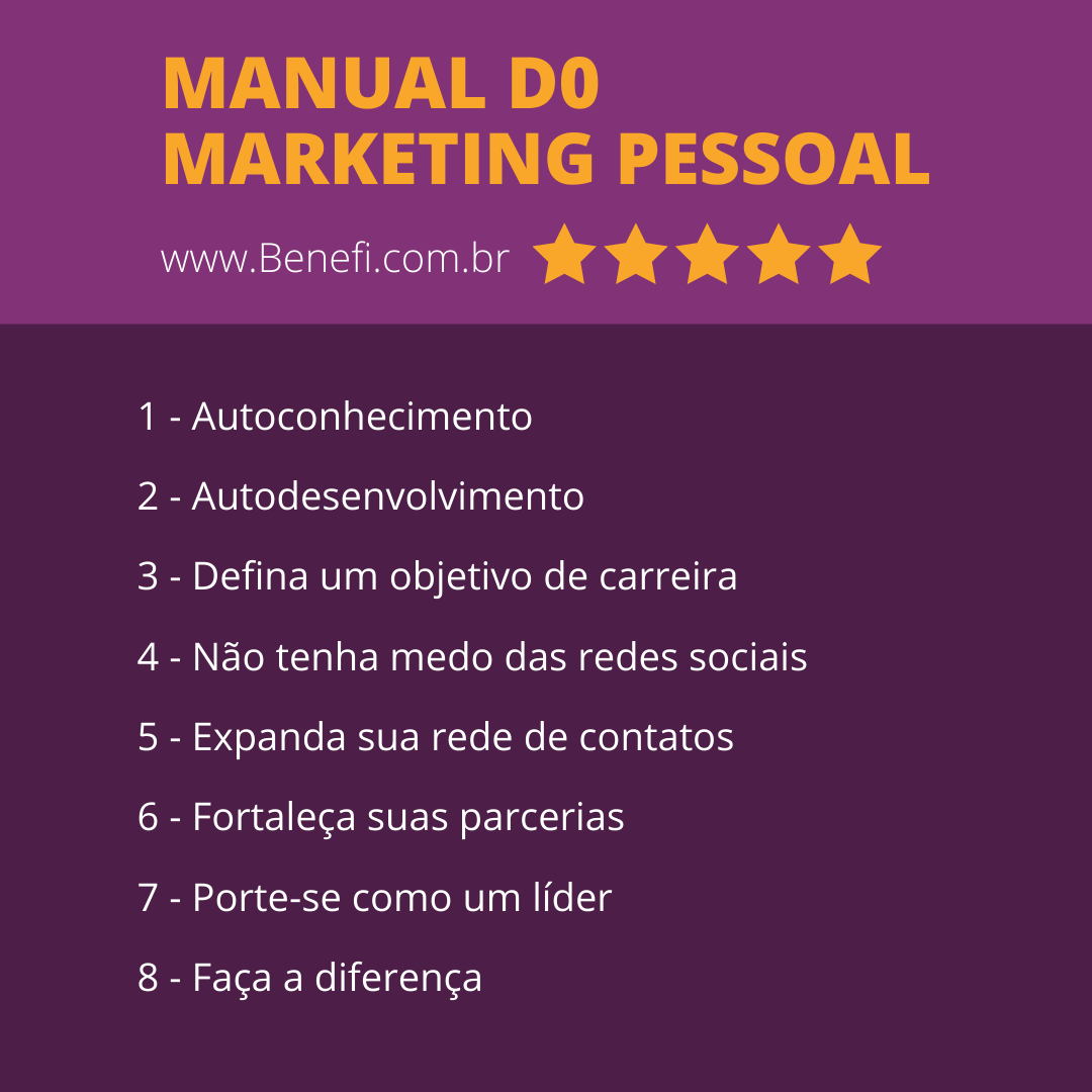 manual do marketing pessoal